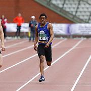 Kapenda Raphael (#47, SMAC)? lors des Intercercles Div Nationale Hommes d'athlétisme qui se sont déroulés à Bruxelles (Stade Roi Baudouin) le 14/05/2017.