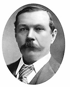 Arthur Conan Doyle (1859-1920) Scottish writer. Creator of Sherlock Holmes and of Brigadier Gerard. After a photograph c1900.