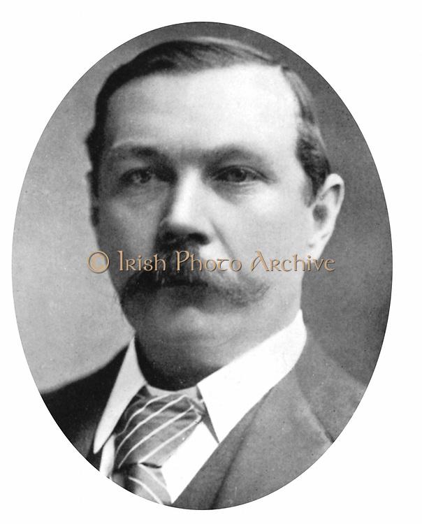 Arthur Conan Doyle (1859-1920) Scottish writer. Creator of Sherlock Holmes and of Brigadier Gerard. After a photograph c1900.