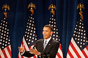 091608-Golden, Colo.-obama-Democratic Presidential Nominee and Illinois Senator Barack Obama speaks Tuesday, Sept. 16, 2008 at the Lockridge Arena on the Colorado School of Mines Campus in Golden. Both the Republicans and the Democrats have ramped up campaigning in swing states especially in counties like Jefferson County..