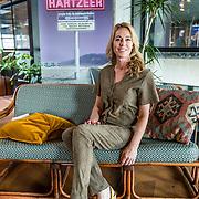 NLD/Amsterdam//20170413 - 'Hotel Hartzeer' schrijfsters Marion Pauw en Susan Smit, Marion Pauw