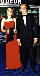 The HON.ALEXANDRA KNATCHBULL and her father<br />  LORD ROMSEY at a film premier on 30th May 2000.OEY 1<br /> © Desmond O'Neill Features:- 020 8971 9600<br />    10 Victoria Mews, London.  SW18 3PY <br /> www.donfeatures.com   photos@donfeatures.com<br /> MINIMUM REPRODUCTION FEE AS AGREED.<br /> PHOTOGRAPH BY DOMINIC O'NEILL