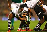 Rugby Union - 2017 Guinness Series (Autumn Internationals) - Ireland vs. Fiji<br /> <br /> Henry Senioli (Fiji) in action, at the Aviva Stadium.<br /> <br /> COLORSPORT/KEN SUTTON