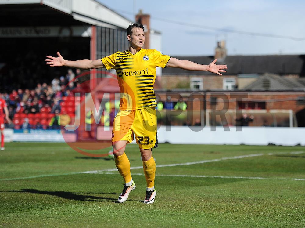 - Mandatory by-line: Alex James/JMP - 30/04/2016 - FOOTBALL - Bootham Crescent - York, England - York City v Bristol Rovers - Sky Bet League Two