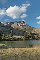 Sun River and Castle Reef Mountain, Sun Canyon Montana
