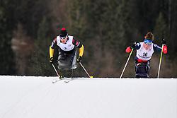 ESKAU Andrea, GER, McFADDEN Tatyana, USA at the 2014 IPC Nordic Skiing World Cup Finals - Sprint