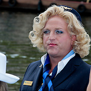 NLD/Amsterdam/20110806 - Canalpride Gaypride 2011, Gordon Heuckroth