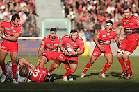 Jean Charles ORIOLI - 10.01.2015 - Toulon / Racing Metro - 16e journee Top 14<br />