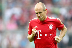 26.07.2011, Allianz Arena, Muenchen, GER, Audi Cup 2011,  FC Bayern vs AC Milan, im Bild Arjen Robben (Bayern #10)  // during the Audi Cup 2011,  FC Bayern vs AC Milan , on 2011/07/26, Allianz Arena, Munich, Germany, EXPA Pictures © 2011, PhotoCredit: EXPA/ nph/  Straubmeier       ****** out of GER / CRO  / BEL ******