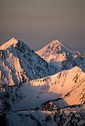 Lone Peak in Big Sky, Montana.