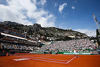 Illustration Court Central - Rafael Nadal - 17.04.2015 - Tournoi de Monte Carlo 2015 - Masters 1000 <br />