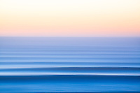 Blurred lines. Pacific Ocean.