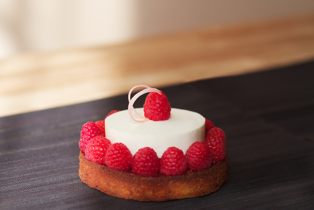 Raspberry Mouse Cake
