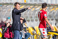 KERKRADE - 20-11-2016, Roda JC - AZ, Park Stad Limburg Stadion, vervangende trainer Dennis Haar, AZ speler Alireza Jahanbakhsh