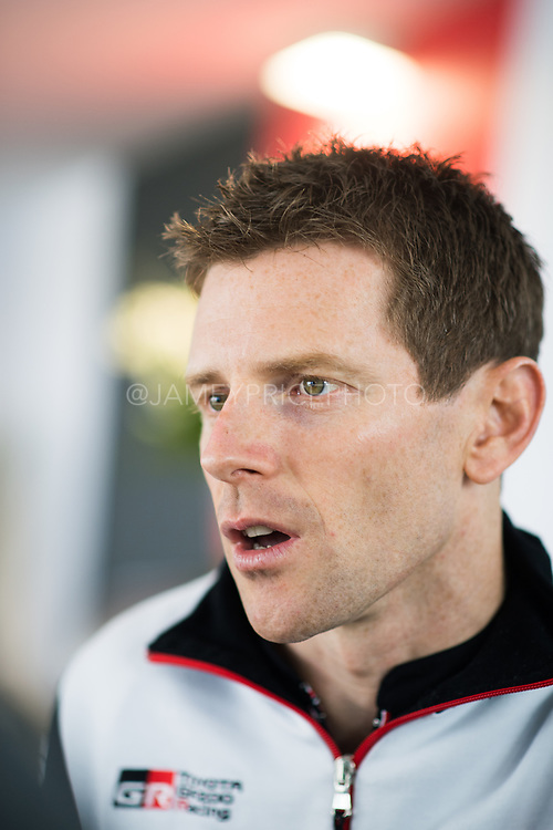 June 12-17, 2018: 24 hours of Le Mans. Anthony Davidson, Toyota Gazoo Racing reserve driver