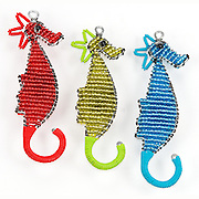 Seahorses; Red; Green; Blue