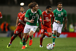 Jeff Hendrick in action for Ireland - Mandatory by-line: Ken Sutton/JMP - 31/08/2016 - FOOTBALL - Aviva Stadium - Dublin,  - Republic of Ireland v Oman -