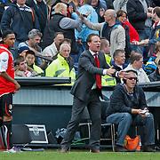NLD/Rotterdam/20100919 - Voetbalwedstrijd Feyenoord - Ajax 2010, trainer Mario been aan de zijlijn