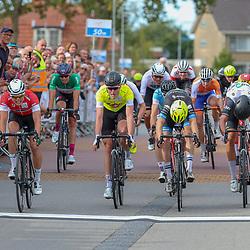 16-09-2018: Wielrennen: Olympia Tour: Beneden Leeuwen<br />De slotetappe van Olympia Tour is gewonnen door Marijn van der Berg