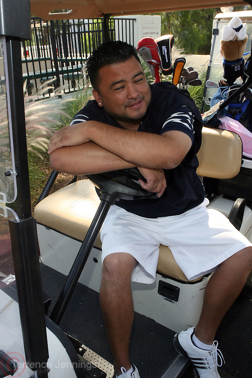 Jonathan Reese at ?Kiki's 1st Annual Celebrity Golf Challenge? Presented by ALIZÉ, The Premium Liqueur held at The Braemar Country Club on October 134, 2008 in Tarzana, Ca..KiKi?s Celebrity Golf Challenge (CGC) - conceived and spearheaded by Ms. Shepard ? is a fundraising event to benefit The K.I.S. Foundation, Inc.  The central mission of The K.I.S. Foundation is to inform and educate the public, raise awareness about Sickle Cell Disease through community outreach programs and educational scholarships, and to financially help support the efforts of research institutions to find a universal cure. Sickle Cell Disease is an inherited, non-contagious blood disease that can be crippling, painful, and life threatening. The K.I.S. Foundation Awards Banquet will also honor individuals and organizations who have selflessly committed themselves in the fight against Sickle Cell Disease...