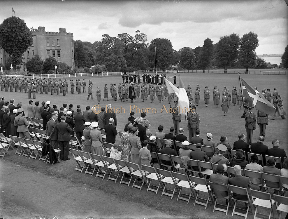 31/07/1954<br /> 07/31/1954<br /> 31 July 1954<br /> <br /> Knights of St John of Jerusalem and Malta (Irish Association) Review of Ambulance Corps Unit
