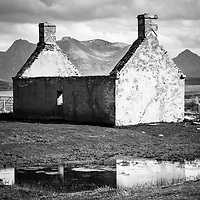 Moine House and Ben Loyal, Sutherland.