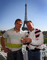 Photo: Paul Thomas/Sportsbeat Images.<br />South Africa Reception at Rugby Town. 21/10/2007.<br /><br />John Smit (L), winning World Cup captain of South Africa alond side his coach Jake White.