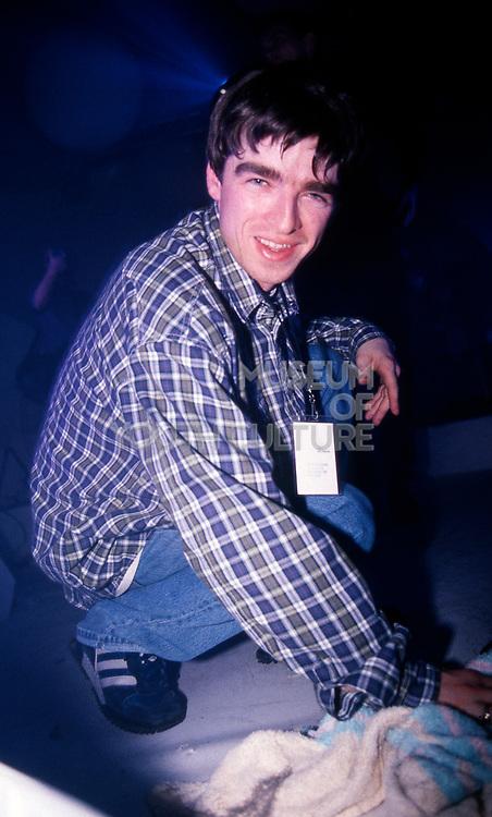Noel Gallagher, Inspiral Carpets concert, Sheffield, 1992