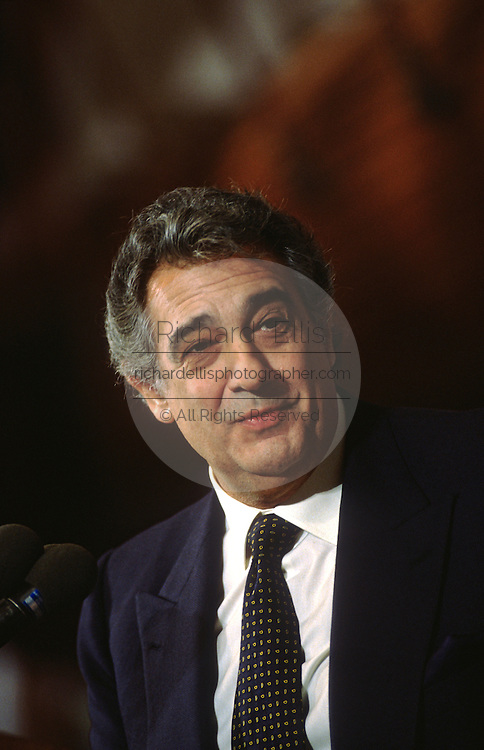Placido Domingo, opera legend and Director of the Washington Opera November 21, 1997 in Washington, DC.