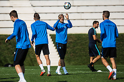 Antonio Delamea Mlinar during practice session of Slovenian national football team, on October 10, 2018 in National Football Center Brdo, Kranj, Slovenia. Photo by Grega Valancic / Sportida