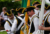 From the 2007 Fourth of July parade in Norwood MA. Norwood's own, The Colonial Boys fife and drum group. This group leads both the Children's parade and this parade which takes place later in the day