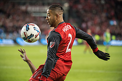 December 9, 2017 - Toronto, Ontario, Canada - Toronto FC defender JUSTIN MORROW (2) during the MLS Cup championship match at BMO Field in Toronto, Canada.  Toronto FC defeats Seattle Sounders 2 to 0. (Credit Image: © Mark Smith via ZUMA Wire)