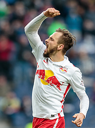 05.03.2016, Red Bull Arena, Salzburg, AUT, 1. FBL, FC Red Bull Salzburg vs SV Groedig, 26. Runde, im Bild Torjubel Red Bulls nach dem 3:0 durch Andreas Ulmer (Red Bull Salzburg) // during Austrian Football Bundesliga 26th round Match between FC Red Bull Salzburg and SV Groedig at the Red Bull Arena, Salzburg, Austria on 2016/03/05. EXPA Pictures © 2016, PhotoCredit: EXPA/ JFK