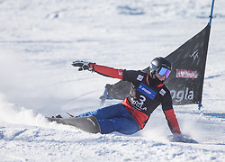 Kislinger Sebastian during the men's Snowboard giant slalom of the FIS Snowboard World Cup 2017/18 in Rogla, Slovenia, on January 21, 2018. Photo by Urban Meglic / Sportida