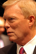 Albuquerque, NM, USA, 09.04.2003: The first of six Presidential Debates held among the Democrate canditades for President 2004. The debate was held at the Popejoy audtiorim at the New Mexico University in Albuquerque.<br /> <br /> Dick Gephardt in the spin room.<br /> <br /> Photo: Orjan F. Ellingvag/Aftenposten/Corbis