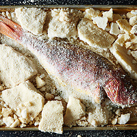 Salt Crusted Red Snapper