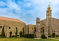 St John the Baptist monastery Deir Al Kalaa Beit Mery ruins in Beirut capital city of Lebanon Middle east