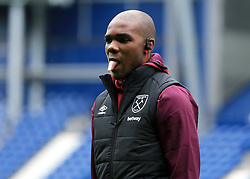 Angelo Ogbonna of West Ham United sticks his tongue out prior to kick off - Mandatory by-line: Paul Roberts/JMP - 16/09/2017 - FOOTBALL - The Hawthorns - West Bromwich, England - West Bromwich Albion v West Ham United - Premier League