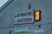 Final score 13-13. All square at Llandovery.<br /> <br /> Photographer: Dan Minto<br /> <br /> Indigo Welsh Premiership Rugby - Round 12 - Llandovery RFC v Carmarthen Quins RFC - Saturday 28th December 2019 - Church Bank, Llandovery, South Wales, UK.<br /> <br /> World Copyright © Dan Minto Photography<br /> <br /> mail@danmintophotography.com <br /> www.danmintophotography.com