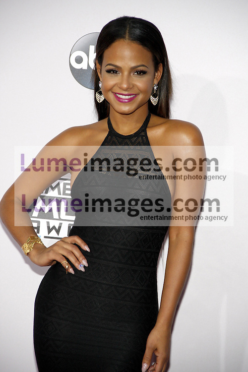 Christina Milian at the 2014 American Music Awards held at the Nokia Theatre L.A. Live in Los Angeles on November 23, 2014 in Los Angeles, California. Credit: Lumeimages.com