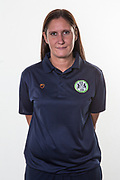Hannah Dingley during the Academy photocall for Forest Green Rovers at the New Lawn, Forest Green, United Kingdom on 29 July 2019.