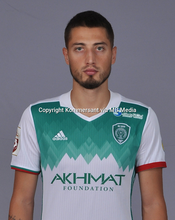 Portraits, FC Terek Grozny, August 2016, Russian Premier League