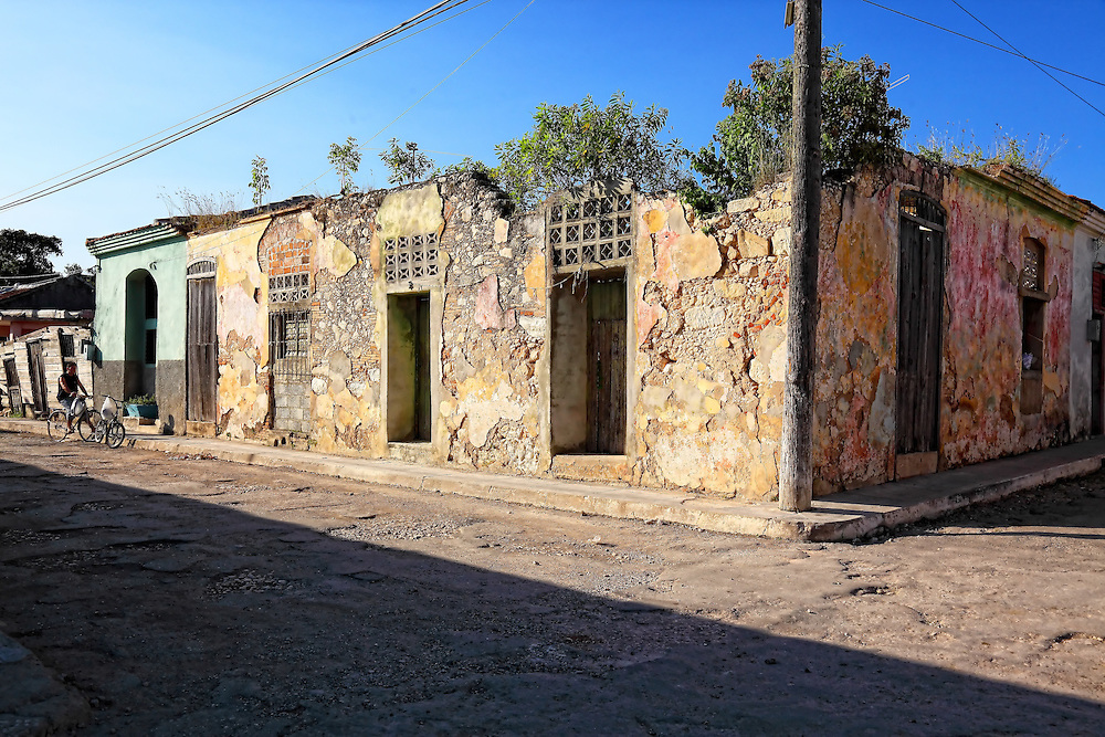 Decaying house in Jaruco, Mayabeque, Cuba.