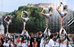 Charmers All Stars, Norway during Mixed senior at second day of European Cheerleading Championship 2008, on July 6, 2008, in Arena Tivoli, Ljubljana, Slovenia. (Photo by Vid Ponikvar / Sportal Images).