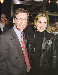MR DAVID & the HON.MRS MONTGOMERY, at an exhibition in London on 16th February 1999.MOK 9