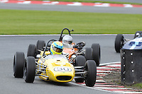 HSCC Gold Cup Oulton Park, Cheshire, United Kingdom.  28th-29th August 2011.  Race 10 HSCC Grand Stand Motor Sport Historic Formula Ford In Association with Avon Tyres. 30 John Farrell - Merlyn Mk20. World Copyright: Peter Taylor/PSP. Copy of publication required for printed pictures. Every used picture is fee-liable.