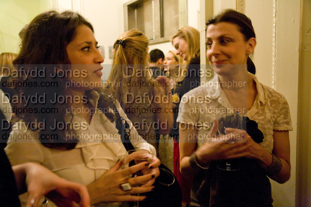 FATIMA BHUTTO; ( LEFT)  Vanity Fair, Baroness Helena Kennedy QC and Henry Porter launch ' The Convention on Modern Liberty'. The Foreign Press Association. Carlton House Terrace. London. 15 January 2009 *** Local Caption *** -DO NOT ARCHIVE-© Copyright Photograph by Dafydd Jones. 248 Clapham Rd. London SW9 0PZ. Tel 0207 820 0771. www.dafjones.com.<br /> FATIMA BHUTTO; ( LEFT)  Vanity Fair, Baroness Helena Kennedy QC and Henry Porter launch ' The Convention on Modern Liberty'. The Foreign Press Association. Carlton House Terrace. London. 15 January 2009
