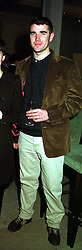 MR IVAN MASSOW, he ran for election as the Conservative party candidate for <br /> Mayor of London, at a party in London on 28th February 2000. OBR 8 MORO<br /> © Desmond O'Neill Features:- 0208 971 9600<br />    10 Victoria Mews, London.  SW18 3PY  photos@donfeatures.com<br /> MINIMUM REPRODUCTION FEE AS AGREED.<br /> PHOTOGRAPH BY DOMINIC O'NEILL
