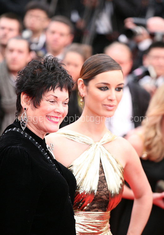 Martine Beswick,  Berenice Marlohe; arriving at the Vous N'Avez Encore Rien Vu gala screening at the 65th Cannes Film Festival France. Monday 21st May 2012 in Cannes Film Festival, France.