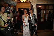 Scott Henshaw and Hofit Golan, Dirty Dancing ,premiere: Aldwych Theatre, 49 Aldwych, London, WC2,24 October 2006. -DO NOT ARCHIVE-© Copyright Photograph by Dafydd Jones 66 Stockwell Park Rd. London SW9 0DA Tel 020 7733 0108 www.dafjones.com